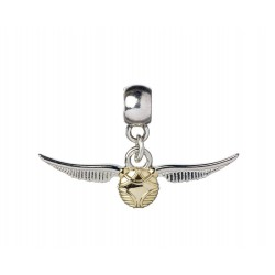 Harry Potter Colgante La Snitch Dorada (plateado)