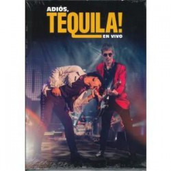 CD TEQUILA -ADIÓS, EN VIVO- 2CD+DVD