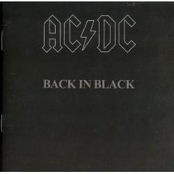CD AC/DC -back in black-
