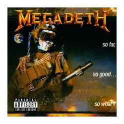 CD MEGADETH -so far, so good...-