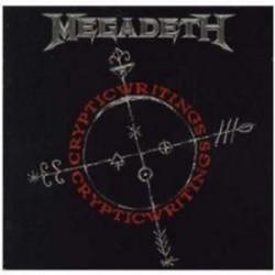 CD MEGADETH -Cryptic Writings -