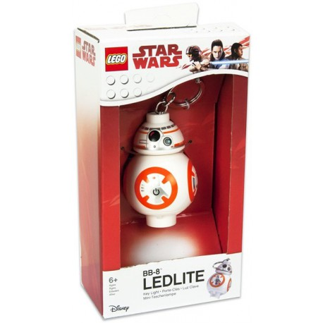 Lego Star Wars Mini LED torch with keychain BB-8