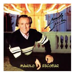 CD MANOLO ESCOBAR -Manolo Escobar-