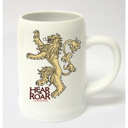 HEAR ME ROAR LANNISTER JARRA CERAMICA GAME OF THRONES