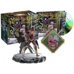 Pack Iron Maiden -Somewhere in time - Ed especial - CD + Figura Eddie + Parche