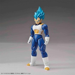 VEGETA SUPER SAIYAN GOD BLUE MODEL KIT FIGURA 14 CM DRAGON BALL Z FIGURE-RISE STANDARD