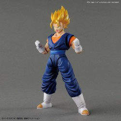SUPER SAIYAN VEGETTO MODEL KIT FIGURA 15 CM DRAGON BALL Z FIGURE-RISE STANDARD