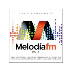 CD VARIOS - MELODÍA FM VOL.3 - 2CD