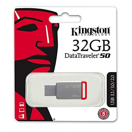 Pendrive Memoria Kingston DT50/32GB Llave Usb