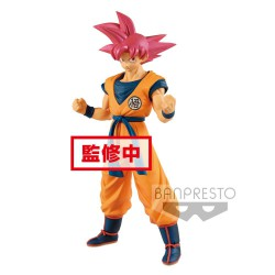 Dragonball Super Estatua PVC Cyokuku Buyuden Super Saiyan God Son Goku 22 cm
