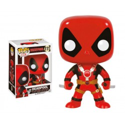 Marvel Comics POP! Vinyl Cabezón Deadpool Two Swords 10 cm