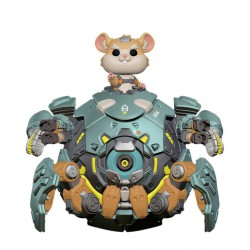 Overwatch Oversized POP! Games Vinyl Figura Wrecking Ball 15 cm