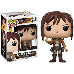 Funko Pop! Sasha Braus Attack on Titan con Patata Ed. Limitada