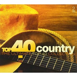 CD VARIOS -TOP 40 COUNTRY -THE ULTIMATE COLLECTION - 2CD