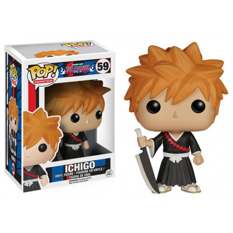 Bleach POP! Animation Vinyl Figura Ichigo 9 cm
