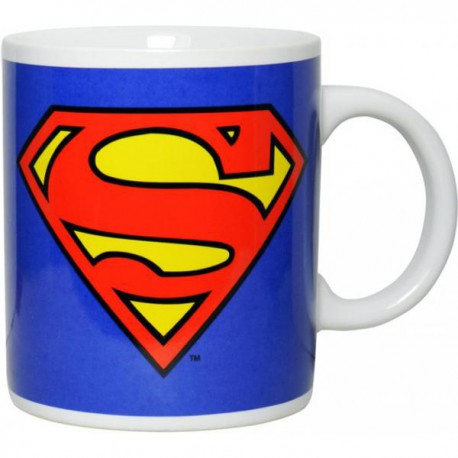 DC ORIGINALS TAZA AZUL SUPERMAN LOGO