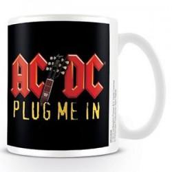 AC/DC Taza -Plug me in-