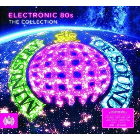 CD VARIOS-Electronic 80s - The Collection - Ministry of Sound  4CD