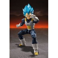Dragon Ball Super Broly Figura S.H. Figuarts Super Saiyan God Super Saiyan Vegeta 14 cm