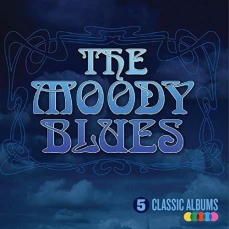 CD MOODY BLUES -5 CD CLASSIC ALBUMS-