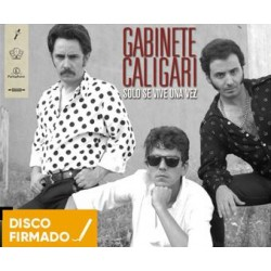 CD GABINETE CALIGARI -SOLO SE VIVE UNA VEZ- 2CD