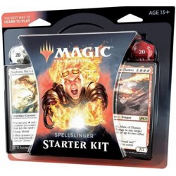 MAGIC - KIT DE INICIO SPELLSLINGER CON 2 MAZOS Y 2 DADOS