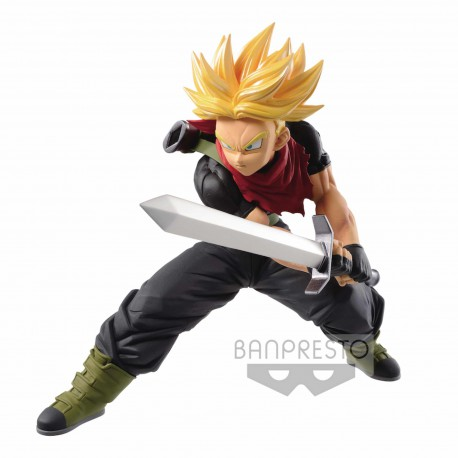 SUPER SAIYAN TRUNKS FUTURE FIGURA 14 CM SUPER DRAGON BALL HEROES TRANSCENDENCE ART VOL. 5