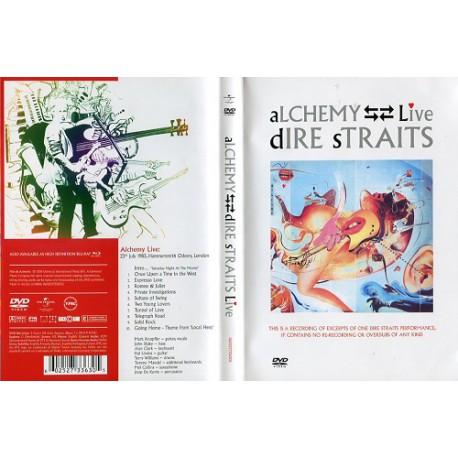 DVD DIRE STRAITS -ALCHEMY-LIVE