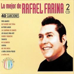 CD RAFAEL FARINA -LO MEJOR DE- 40 CANCIONES  2CD