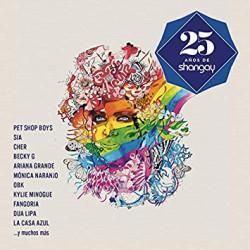 CD VARIOS -25 AÑOS DE SHANGAY-  2CD