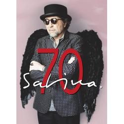 CD BOX JOAQUIN SABINA -Sabina 70. Bookset (4CD +libreto+textos+dibujos+letras)