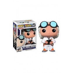 Regreso al Futuro POP! Vinyl Figura Doc Brown 10 cm