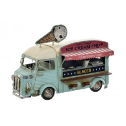 VEHICULO DECORACION METAL 28X16X21 FOODTRUCK