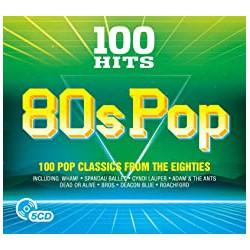 CD 100 Hits - 80s Pop  PACK 5CD