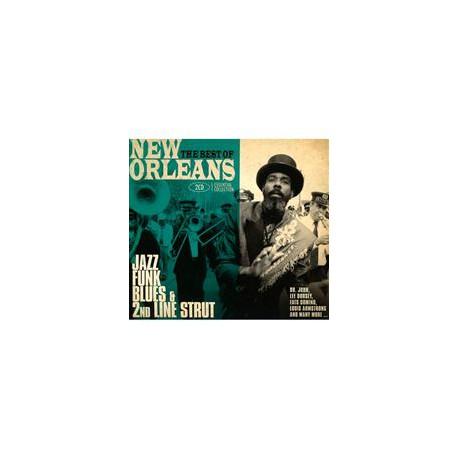 2CD VARIOS ARTISTAS -NEW ORLEANS-THE BEST OF-JAZZ, FUNK,BLUES