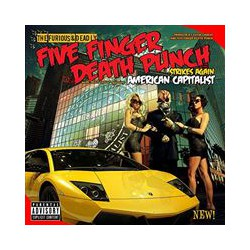 CD Five Finger Death Punch -American Capitalist-