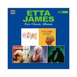 CD ETTA JAMES -FOUR CLASSIC ALBUMS-