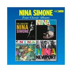 CD NINA SIMONE -FOUR CLASSIC ALBUMS-