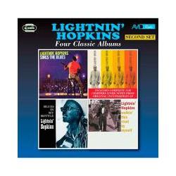CD LIGHTNIN´HOPKINS -FOUR CLASSIC ALBUMS-