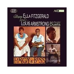 CD ELLA FITZGERALD AND LOUIS ARMSTRONG -THE COMPLETE AND STUDIO DUETS-