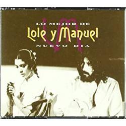 CD LOLE Y MANUEL -LO MEJOR-NUEVO DÍA- 2CD