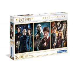 Harry Potter Pack de 3 Puzzles Characters (3 x 1000 piezas)