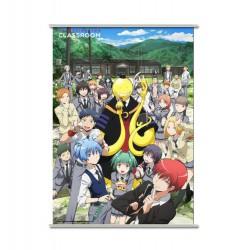 Assassination Classroom - Koro y Clase 3-E - Wallscroll  90 x 60 cm