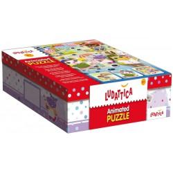 Ludattica-Puzzle animado