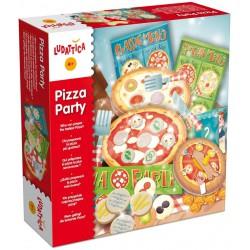 Ludattica - Pizza party - Un divertido juego de estrategia