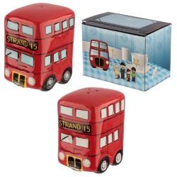 Set de Salero y Pimentero - Autobús de Londres