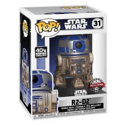 Funko Pop Star Wars-Dagobah R2-D2