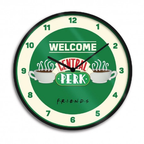 Friends Reloj de Pared Central Perk