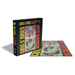 Merchandise Guns n' Roses Rock Saws Jigsaw Puzzle Appetite for Destruction - 500 Piezas