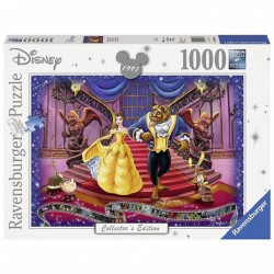 Disney Collector´s Edition Puzzle La Bella y la Bestia (1000 piezas)
